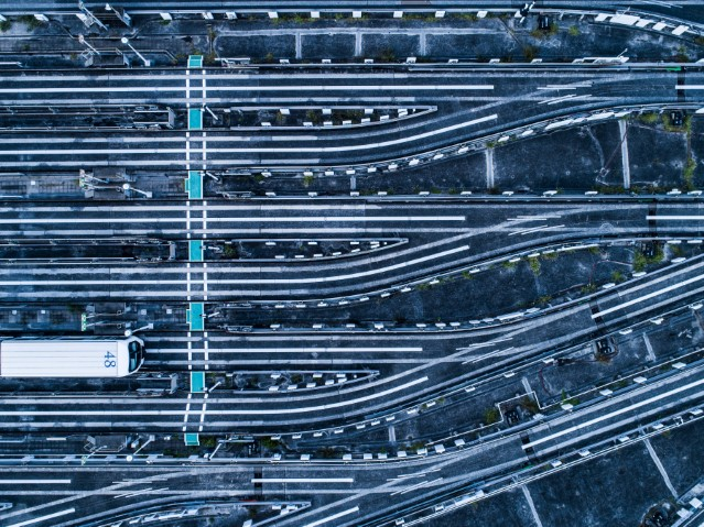 roads aerial